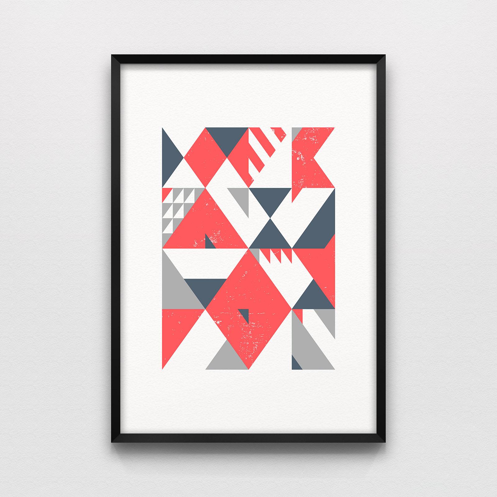 Algebra #1, 50 x 35 cm