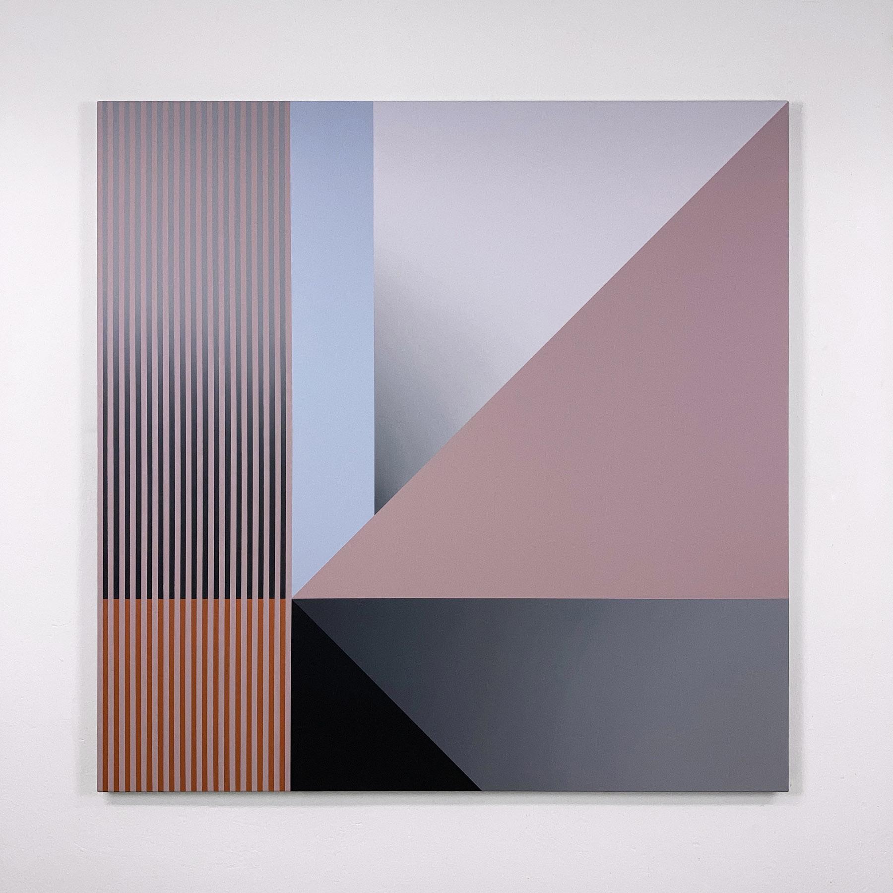 acrylic on canvas, 125 x 125 cm
