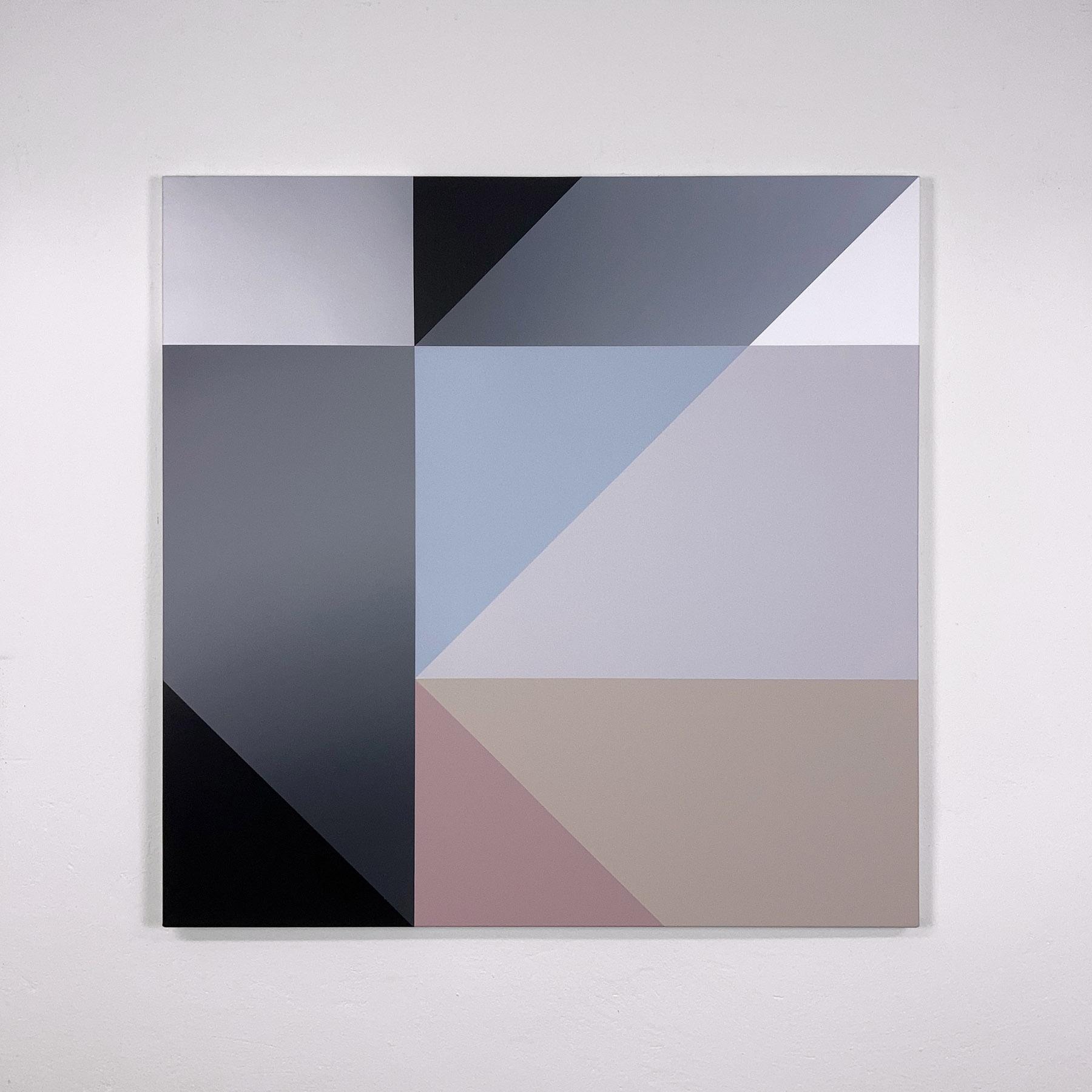 acrylic on canvas, 90 x 90 cm