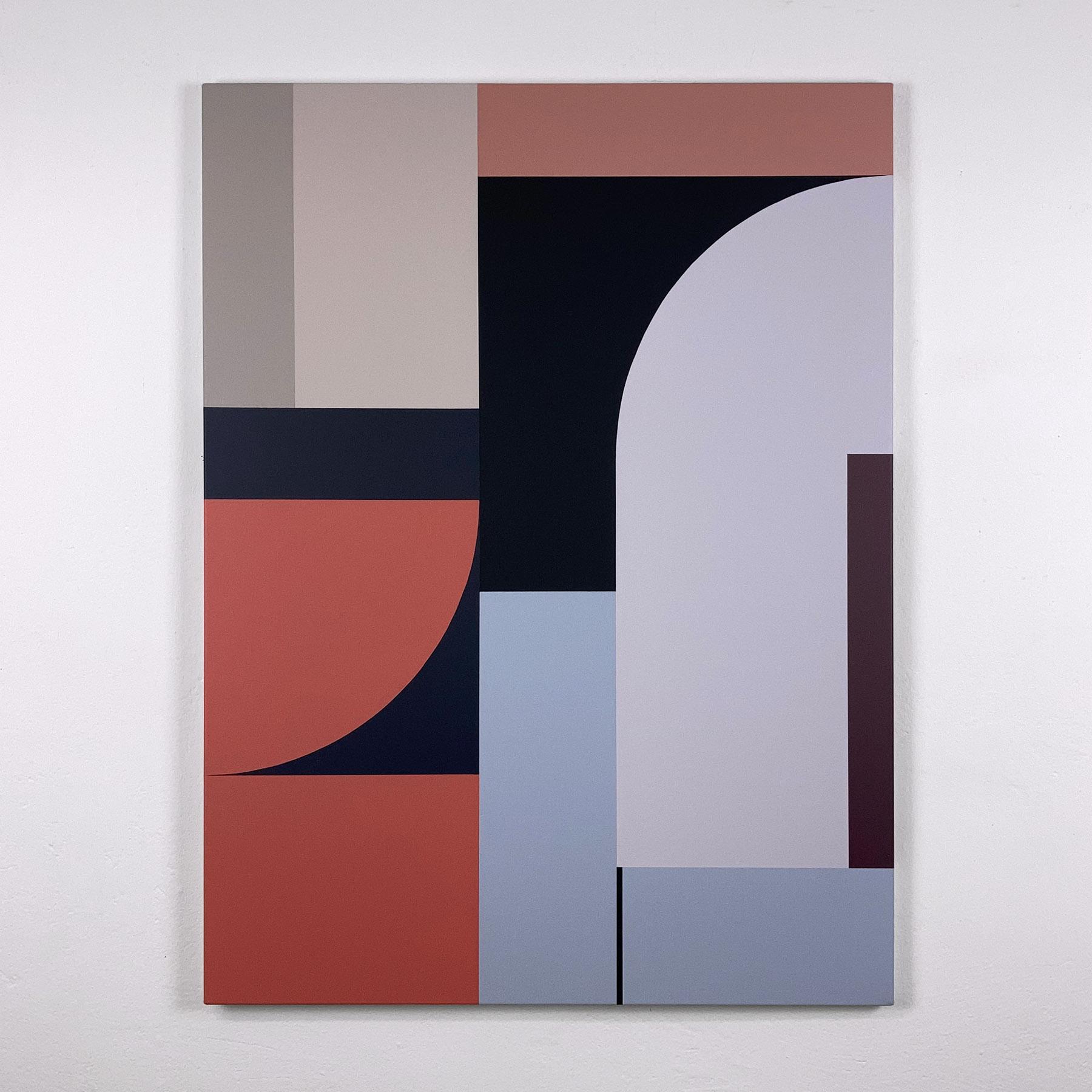 acrylic on canvas, 100 x 75 cm
